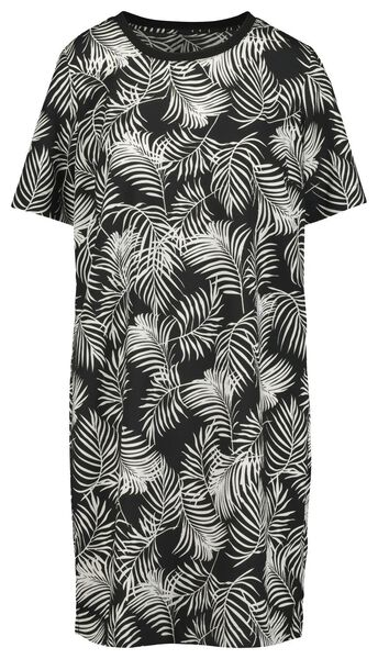 women's dress black/white black/white - 1000019440 - hema