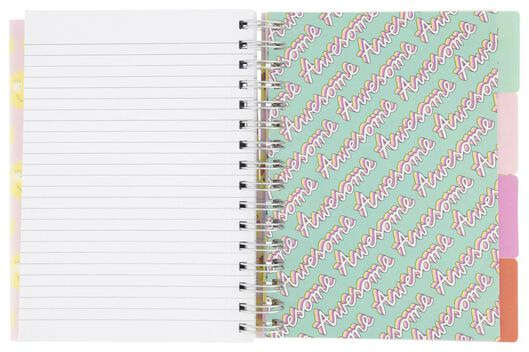 lecture notebook 4-in-1 - A5 - ruled - 14502180 - hema