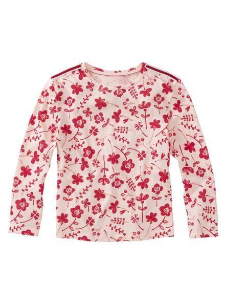 Kinder-T-Shirt hellrosa hellrosa - 1000012004 - HEMA