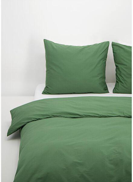 housse de couette - coton doux - bleu vert vert - 1000016596 - HEMA