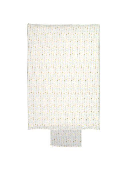 Image of HEMA Duvet Cover Children's Bed 100x135 - Flower (white)