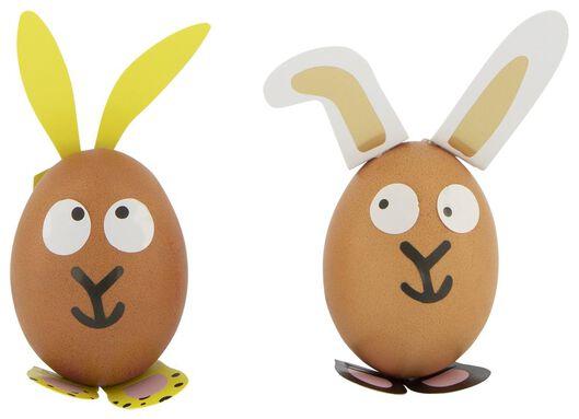 stickers voor eieren - 4 vel 21x19 - 25810116 - HEMA