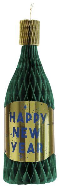 Papierwaben-Sektflasche, 45 cm, Happy New Year - 25280039 - HEMA