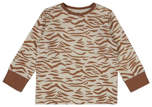 2er-Pack Baby-Pyjamas, Zebra/Regenbogen eierschalenfarben 86/92 - 33329622 - HEMA