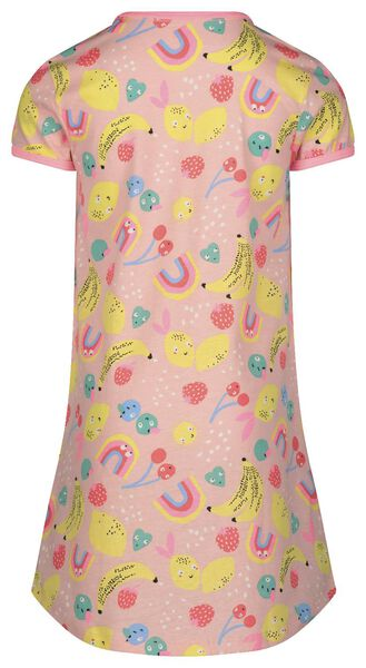 Kinder-Nachthemd mit Puppen-Nachthemd hellrosa hellrosa - 1000022760 - HEMA