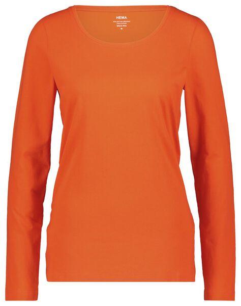 women's T-shirt red red - 1000018256 - hema