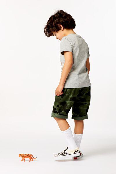 2er-Pack Kinder-Shorts schwarz schwarz - 1000023894 - HEMA