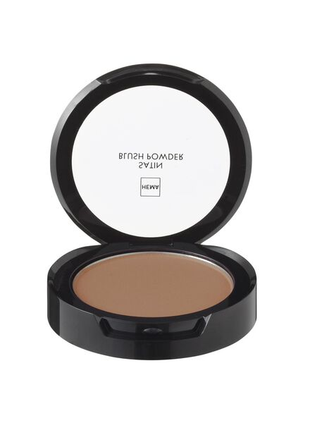 satin blush powder brutal brown - 11294706 - hema