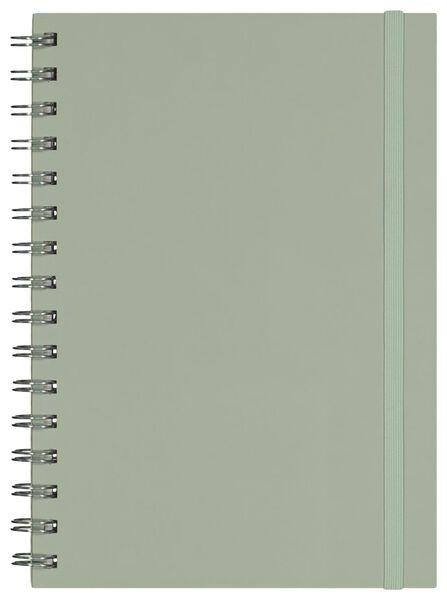 Notizbuch, DIN A5, liniert - 14150061 - HEMA
