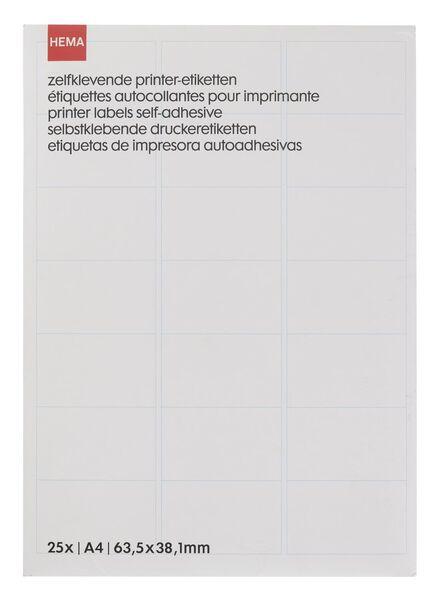 Image of HEMA 25-pack Printer Labels