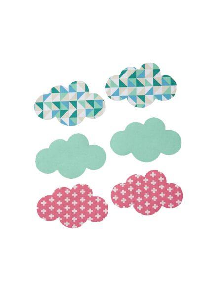 Bügelapplikation Wolke - 1490211 - HEMA