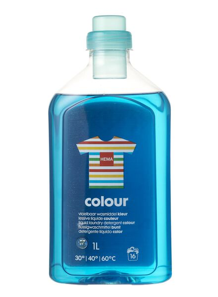 fluid laundry detergent colour 1L - 20500020 - hema
