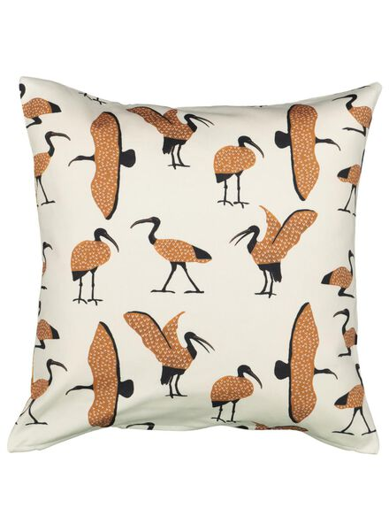 housse de coussin - 50 x 50 - ibis - naturel - 7392024 - HEMA