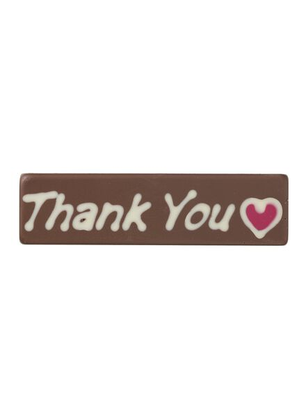 barre friandise thank you - 10370024 - HEMA