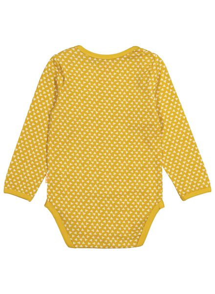 body stretch pour bébé en bambou jaune jaune - 1000015079 - HEMA