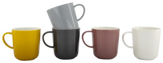 mug Chicago 280 ml vieux rose 280 ml lilas - 9602104 - HEMA