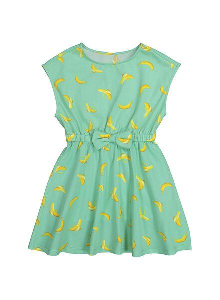 Image of Bananas&Bananas Children's Dress - Bananas & Bananas Aqua (aqua)