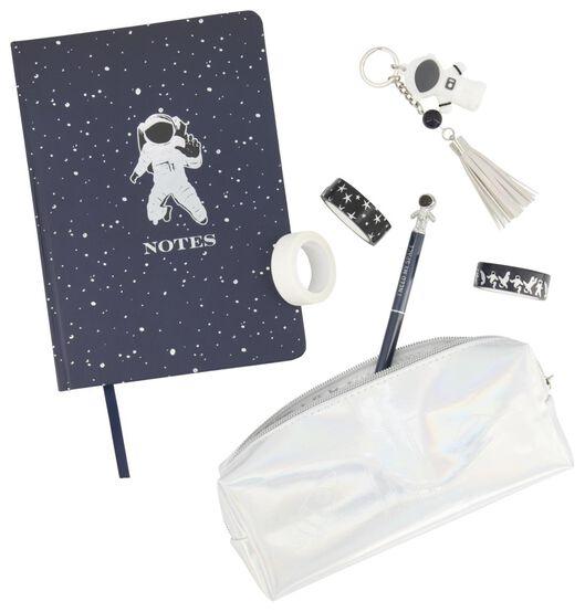 ensemble cadeau accessoires d'écriture 5 éléments astronaute - 14802915 - HEMA