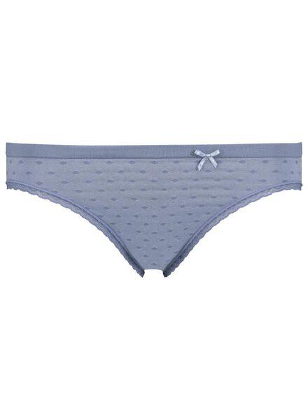 women's briefs seamless micro blue blue - 1000013642 - hema