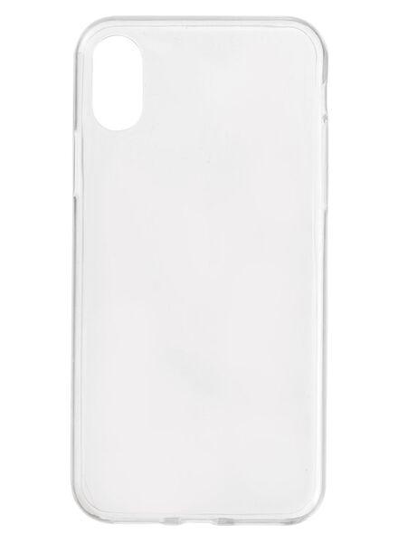 coque souple iPhone X - 39630011 - HEMA