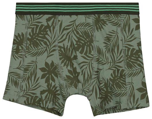 2er-Pack Kinder-Boxershorts graugrün graugrün - 1000018436 - HEMA