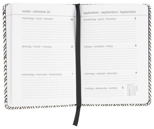 agenda 2021 multilingue - 15x11 - zigzag - 14622204 - HEMA
