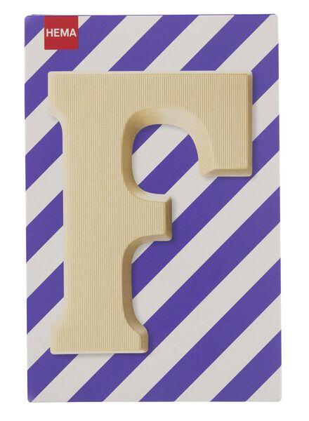 white chocolate letter F - 10037005 - hema
