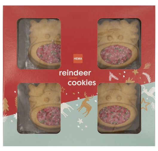 reindeer cookies disco nose 160 grams - 10941059 - hema