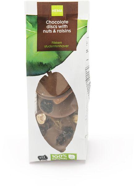 pastilles chocolat au lait mendiants - 10300019 - HEMA
