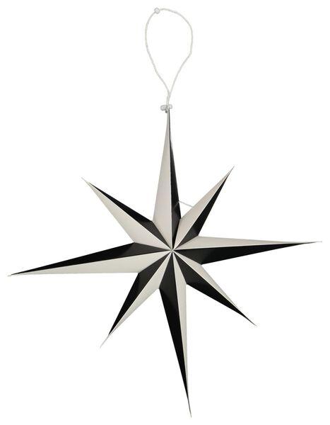 Image of HEMA Christmas Star Paper Ø45cm Black