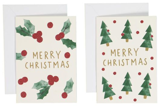 Image of HEMA 20 Christmas Cards 13.5x9.5 (red)