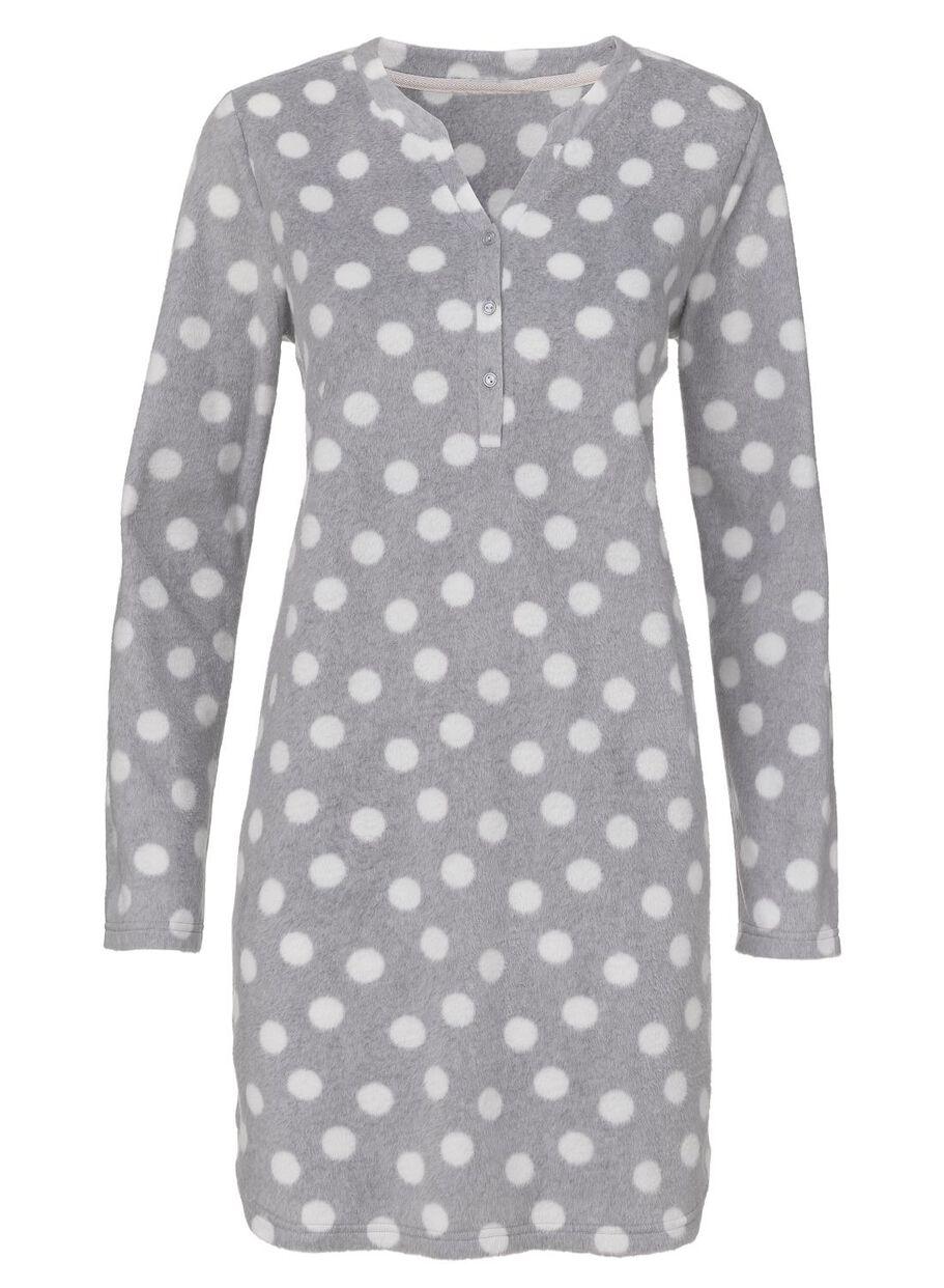 99e388b782c Abbildungen Damen-Nachthemd graumeliert graumeliert - 1000010363 - HEMA