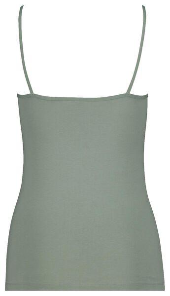 women's singlet spaghetti straps green green - 1000018548 - hema