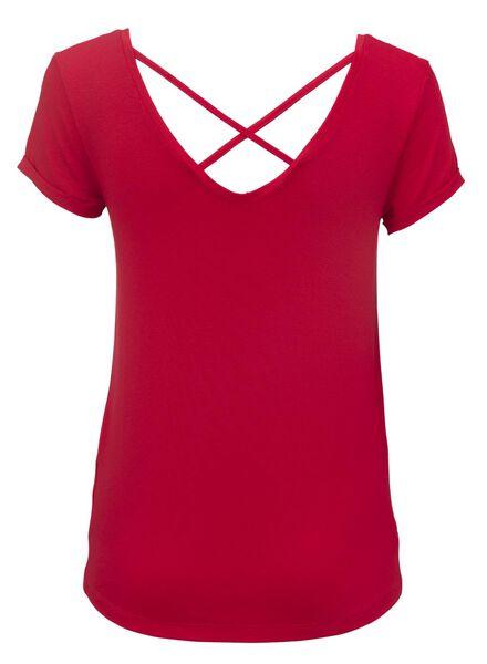women's T-shirt red red - 1000007651 - hema