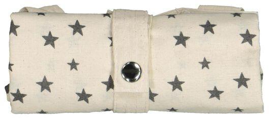 zusammenfaltbare Canvastasche, 40 x 36 cm, Sterne - 61123056 - HEMA