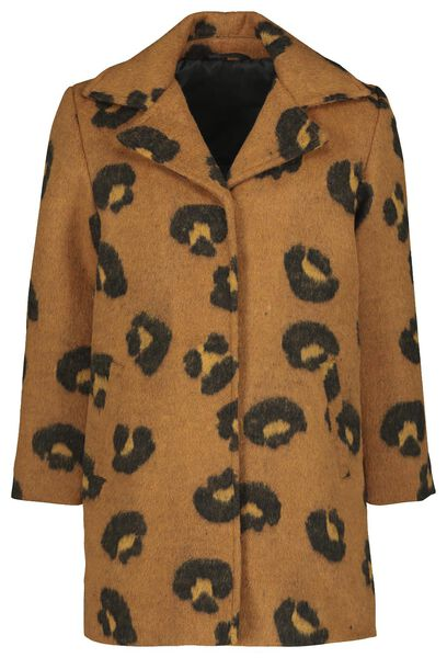 children's coat brown brown - 1000020122 - hema