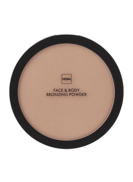 face and body bronzing powder - 11294401 - HEMA