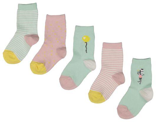 5-pack children's socks multi multi - 1000018457 - hema