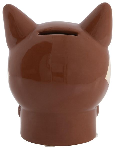 tirelire 13x10x9 - céramique renard - 61122855 - HEMA