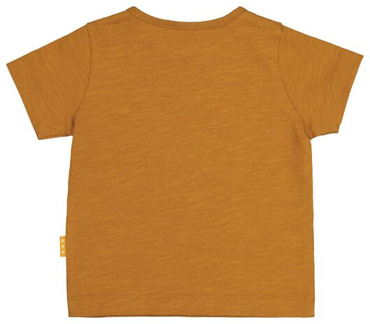 newborn T-shirt brown brown - 1000020346 - hema
