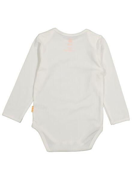 body pour bébé en bambou blanc cassé blanc cassé - 1000015354 - HEMA