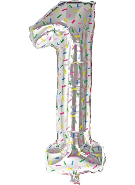 ballon alu XL chiffre 1 - 14200179 - HEMA