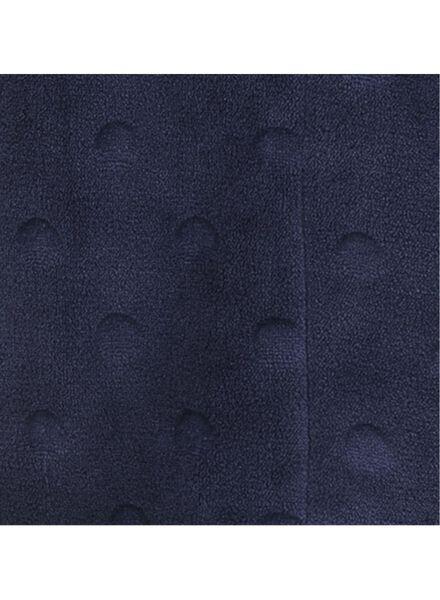 peignoir femme en polaire bleu foncé bleu foncé - 1000011784 - HEMA