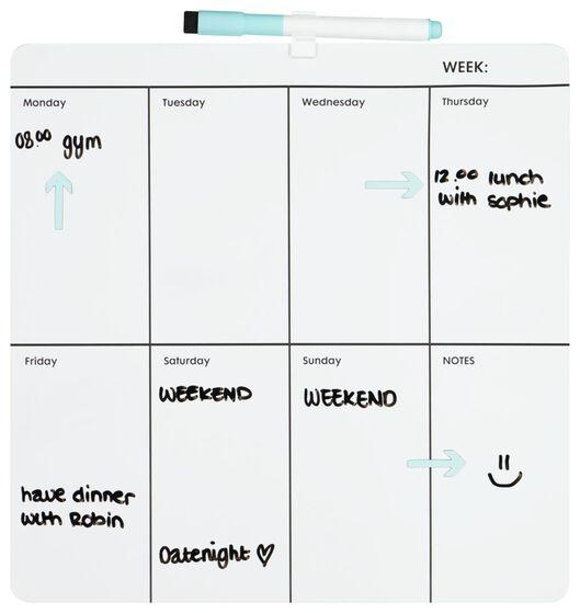 whiteboard weekplanner - 14822218 - HEMA