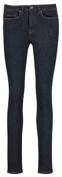 Hosen - HEMA Figurformende Damen Skinnyjeans Dunkelblau  - Onlineshop HEMA