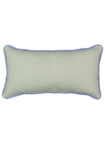 coussin rembourré - 23 x 43 - confettis - bleu - 7392107 - HEMA