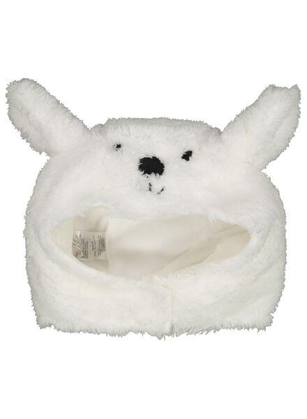 Baby-Mütze Eisbär eierschalenfarben eierschalenfarben - 1000014925 - HEMA