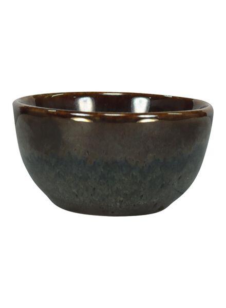 bowl - 6 cm - Porto - reactive glaze - taupe - 9602055 - hema