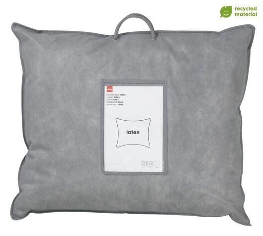 hoofdkussen - latex rPET 60x70- medium - 5500099 - HEMA