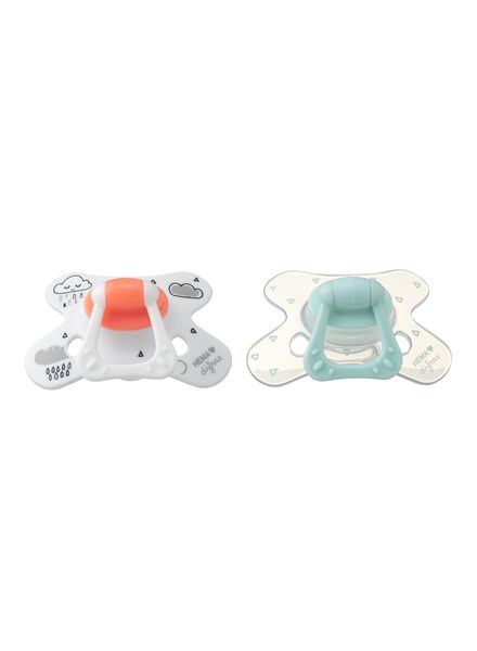 2-pack Difrax pacifiers for 6 months and up - 33564501 - hema